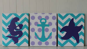 Purple Nursery Wall Decor by Bedroom Cute Etsy Nautical Baby Nursery Decorations Wooden Etsy