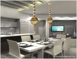 contemporary dining room pendant lighting modern dining room