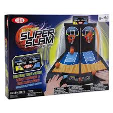 electronic super slam basketball tabletop game for kids by ideal