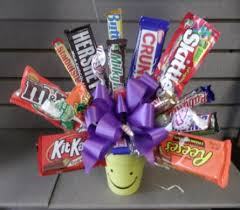 candy bar bouquet candy bar bouquet local delivery only in circleville oh wagner s
