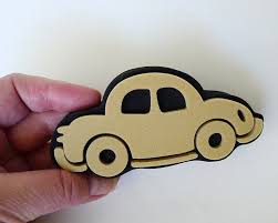 free shipping car stamp auto stamp foam stamp automobile craft