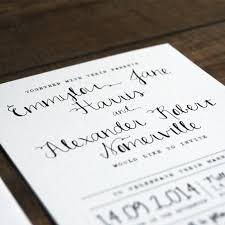 calligraphy invitations calligraphy wedding invitation feel wedding invitations