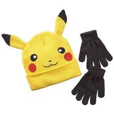 Bed And Bath Bath Accessories Shopko by Pokemon Boys Pikachu Character Beanie Hat And Glove Set Shopko