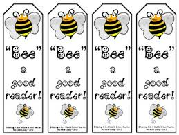 printable bookmarks for readers bee a good reader printable bookmarks by making it teacher tpt