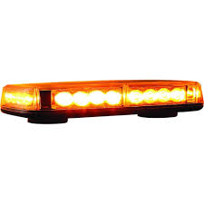 orange led light bar buyers products company 24 amber led mini light bar 8891040 the