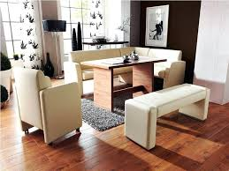 dining room sets with benches banquette cushions bench upholstered inspirations with round