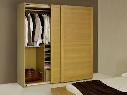 Home Interior Wardrobe Design by Laminated Wooden Wardrobe Design Feature Solid Wood Material And