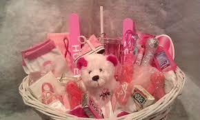 cancer gift baskets breast cancer awareness gift basket on storenvy