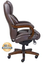 Leather Office Chair La Z Boy 45833 Delano Big Tall Executive Bonded Leather Office