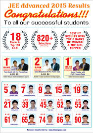 iit jee results