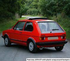 mk1 golf gti u201ccampaign u201d edition rear tail lights mk1 golf gti
