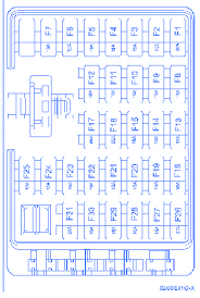 hyundai santa fe 2009 fuse box block circuit breaker diagram