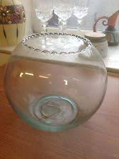 Goldfish Bowl Vase Glass Goldfish Bowl Home Furniture U0026 Diy Ebay