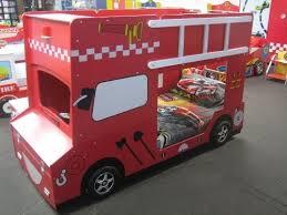 Fire Truck Bunk Bed Decker Fire Engine Bunk Bed With Headlights
