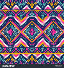 Tribal Print Wallpaper by Multicolor Tribal Vector Seamless Navajo Pattern Stock Vector
