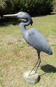 herons egrets and cranes statues and sculptures custom and