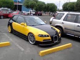 tuner honda civic honda civic replicates bugatti veyron car tuning