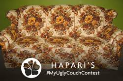 ugly couch hapari seeks america s ugliest couch in newest social media contest