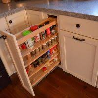 Kitchen Cabinet Spice Racks Great Kitchen Cabinet Pull Out Spice Rack To Ease Your Cooking