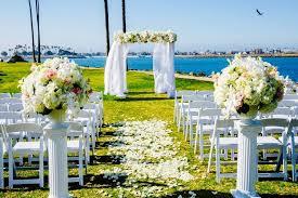 wedding arches san diego hyatt regency mission bay spa and marina venue san diego ca