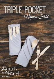 how to fold napkins for a wedding pocket napkin fold tutorial napkins tutorials and