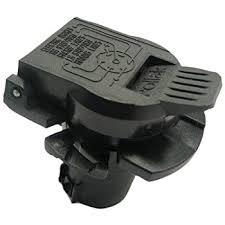 amazon com pollak 11 916p rv 7 way socket oem style automotive