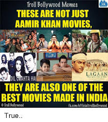 Aamir Khan Memes - troll bollywood memes tb these are not just aamir khan movies