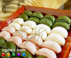 songpyeon rice cake made during korean thanksgiving chuseok