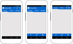 tutorial android menu bar actionbar