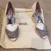 wedding shoes badgley mischka badgley mischka weddings used badgley mischka weddings tradesy