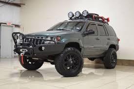 2003 jeep grand overland custom jeep grand overland 4x4 lifted tv dvd navi two way