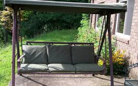 porch swing cushions with back home design ideas