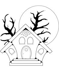 casa disegno disegno di casa stregata da colorare disegni da colorare e