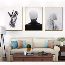compare prices on wall art posters online shopping buy low price nordic modern abstract cat decorative painting wall pictures canvas painting for living room wall art posters