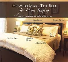 How To Make Your Bed Comfortable by How To Make The Bed For Home Staging Vannessa Brown Rhoades