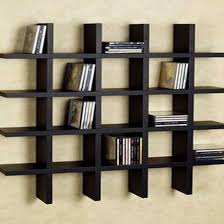 20 ways to wall shelving units