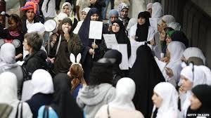 the islamic veil across europe bbc news