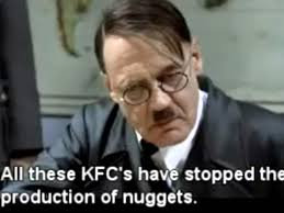 Kfc Memes - downfall of the hitler meme nbc new york