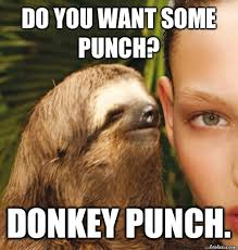 Funny Donkey Memes - do you want some punch donkey punch funny meme picture