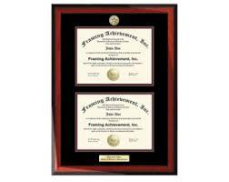 degree frames diploma frame etsy