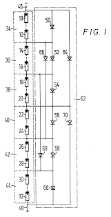 patent us6225793 solar power generation circuit including bypass