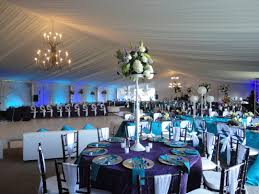 decor blue wedding reception decorations centerpieces fireplace tv