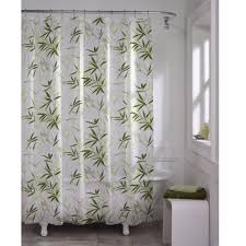 maytex zen garden bamboo waterproof peva shower curtain