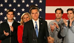 Mitt Romney Patriotic Lyrics Iowa Stump Speech Copies Fletch movie, Chevy Chase Saluting Police Officers/Romney Saluting Veterans and Singing Star Spangled Banner