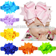 custom hair bows haoxie brand yiwu custom ribbon girl children s hair bow