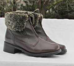 womens boots made in canada womens boots blondo shearling lined brown leather boots made in