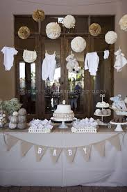 Some Simple Tips For Decorating Round Tables by Best 25 Baby Shower Table Ideas On Pinterest Babyshower