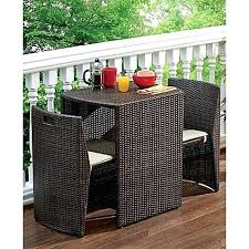 small patio table set patio furniture for small balconies innovative outdoor balcony