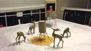 on shelf reindeer on the shelf goes deer