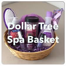 diy dollar tree spa gift basket for s day valentines